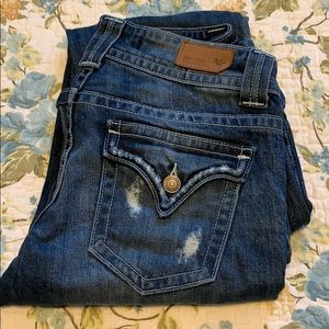 Distressed size 3 Vigoss jeans